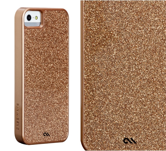 iPhone 5s Case Mate Glam Case - Rosegold - mkCellular